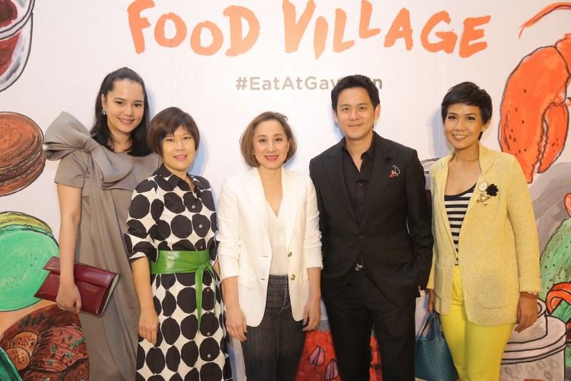"""""""Gaysorn Food Village"""" ปรากฏการณ์ความอร่อยกับ 13 ร้านอาหารชื่อดัง"""