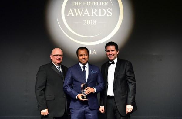 เอ็กเซ็กคิวทีฟ เชฟ Anantara Lawana Koh Samui Resort คว้ารางวัล Chef Hotelier of the Year 2018