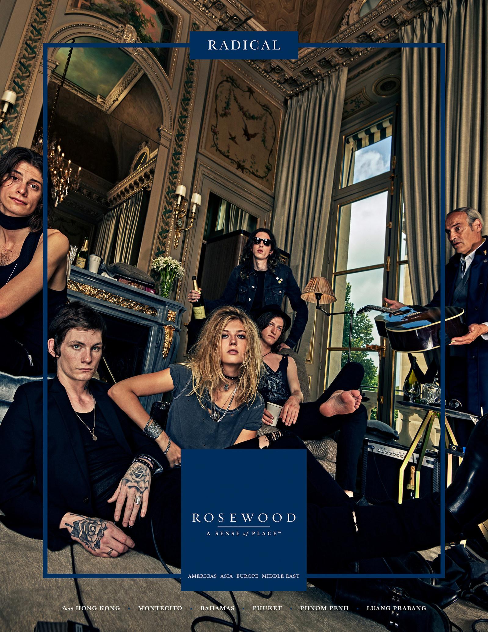ครีเอทีฟ Balmain ร่วมโชว์ในแคมเปญใหม่ของ Rosewood Hotels & Resorts
