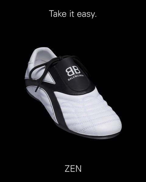 BALENCIAGA ZEN สนีกเกอร์สไตล์ใหม่ แรงบันดาลใจจากรองเท้านักกีฬา เหมาะสำหรับสวมใส่ไปยิม