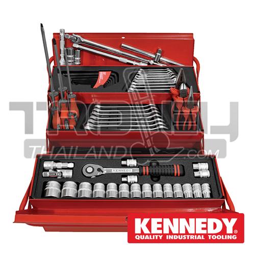 ชุดกล่องเครื่องมือช่าง 62 ชิ้น KEN-595-0050K