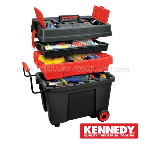 KEN-593-2000K กล่องเครื่องมือพลาสติก PLASTIC TOOL BOXES