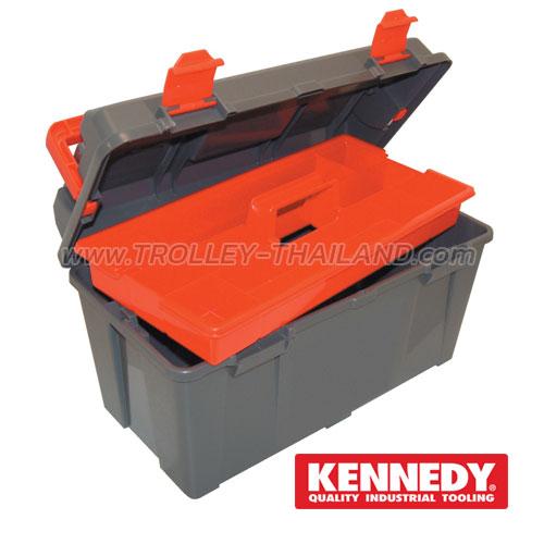 KEN-593-2300K กล่องเครื่องมือพลาสติก PLASTIC TOOL BOXES