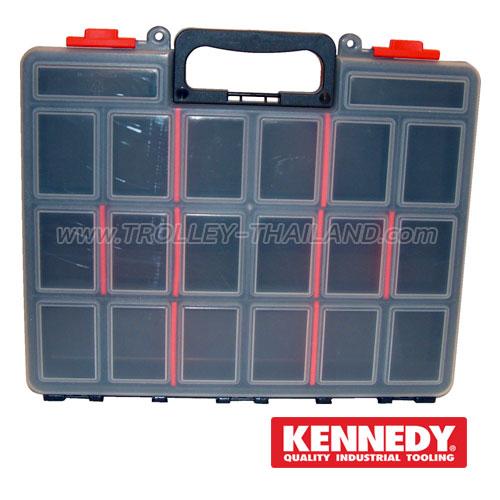KEN-593-2400K กล่องเครื่องมือพลาสติกมีลิ้นชัก กล่องเก็บอะไหล่ SERVICES CASES