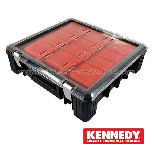 KEN-593-2410K กล่องเครื่องมือพลาสติกมีลิ้นชัก กล่องเก็บอะไหล่ SERVICES CASES