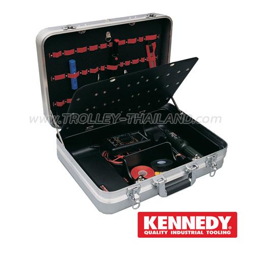 KEN-593-2650K กระเป๋าเครื่องมือทรงเจมส์บอนด์ Aluminium Tool Case
