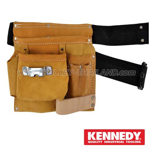 KEN-593-3470K กระเป๋าเครื่องมือแบบคาดเอว (หนัง) TOOL POUCHES