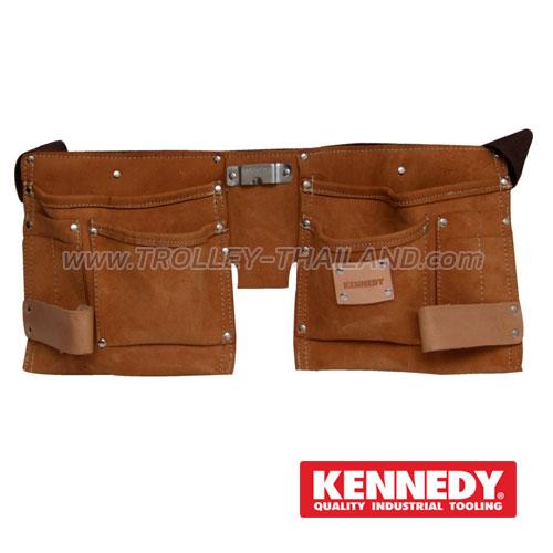 KEN-593-3500K กระเป๋าเครื่องมือแบบคาดเอว (หนัง) TOOL POUCHES