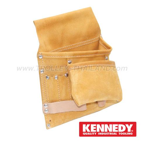 KEN-593-3600K กระเป๋าเครื่องมือแบบคาดเอว (หนัง) TOOL POUCHES