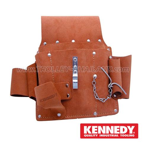 KEN-593-3770K กระเป๋าเครื่องมือแบบคาดเอว (หนัง) TOOL POUCHES