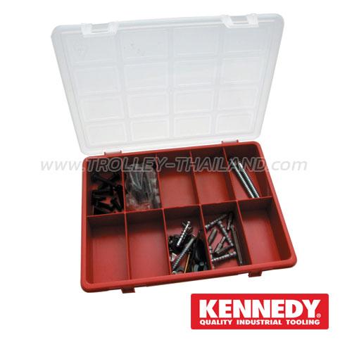 KEN-593-6000K กล่องเครื่องมือพลาสติกมีลิ้นชัก กล่องเก็บอะไหล่ SERVICES CASES