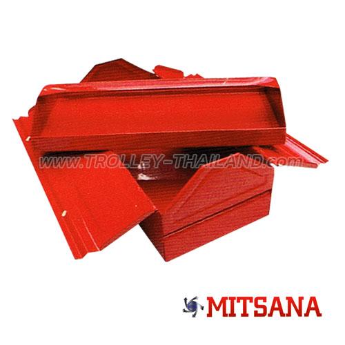 เบอร์ 02-1 ชั้น 16 นิ้ว กล่องเครื่องมือเหล็ก MITSANA