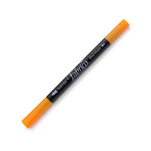 ปากกาเพ้นส์ผ้า Fabrico Dual Marker (สีส้มอ่อน)