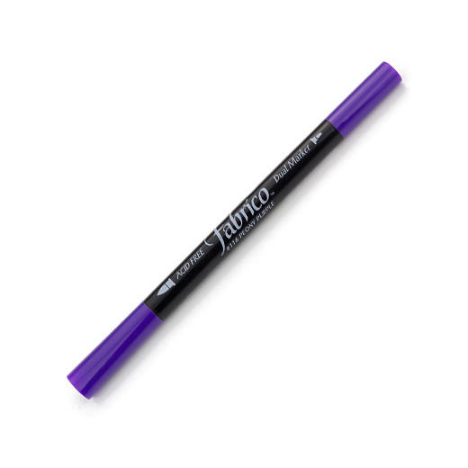 ปากกาเพ้นส์ผ้า Fabrico Dual Marker (สีม่วงเข้ม)