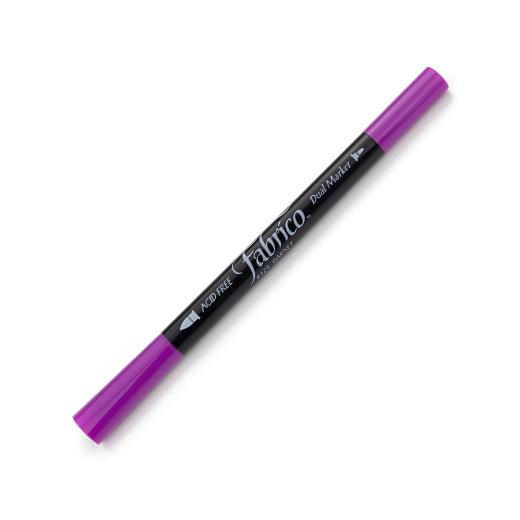 ปากกาเพ้นส์ผ้า Fabrico Dual Marker (สีม่วงสด)