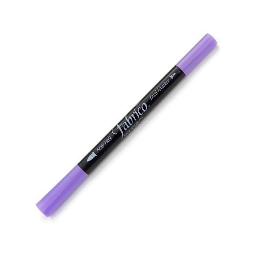 ปากกาเพ้นส์ผ้า Fabrico Dual Marker (สีม่วง)