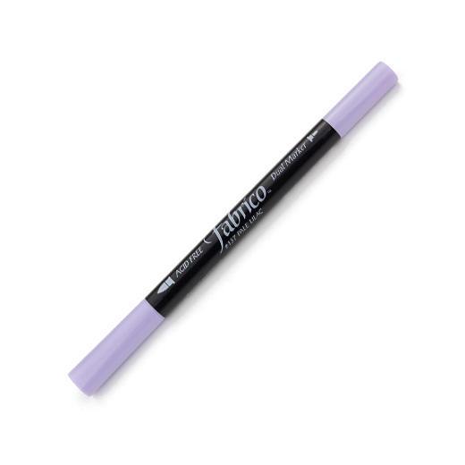 ปากกาเพ้นส์ผ้า Fabrico Dual Marker (สีม่วงอ่อน)