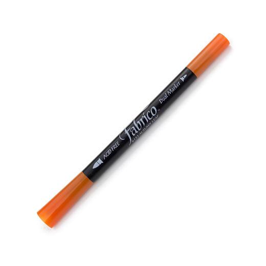ปากกาเพ้นส์ผ้า Fabrico Dual Marker (สีส้ม)