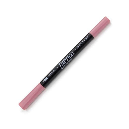 ปากกาเพ้นท์ผ้า Fabrico Dual Marker (สีชมพูกุหลาบ)