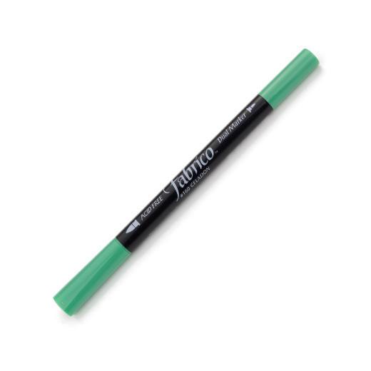 ปากกาเพ้นท์ผ้า Fabrico Dual Marker (สีเขียว)
