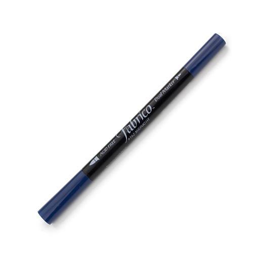ปากกาเพ้นส์ผ้า Fabrico Dual Marker (สีกรมท่า)