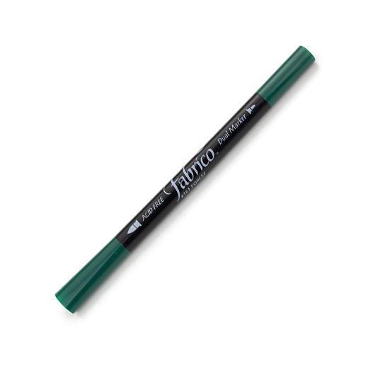 ปากกาเพ้นส์ผ้า Fabrico Dual Marker (สีเขียวเข้ม)