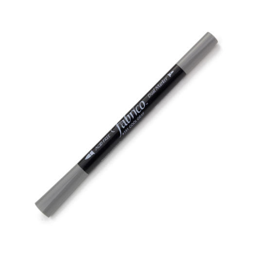 ปากกาเพ้นส์ผ้า Fabrico Dual Marker (สีเทา)
