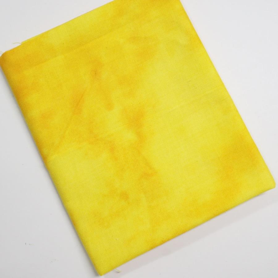 ผ้าคอตตอน สีเหลือง ขนาด 45 x 55 ซม.