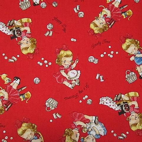 ผ้าคอตต้อนญี่ปุ่น Quilt Gate ขนาด 1/4 หลา (45 x 55 ซม.)