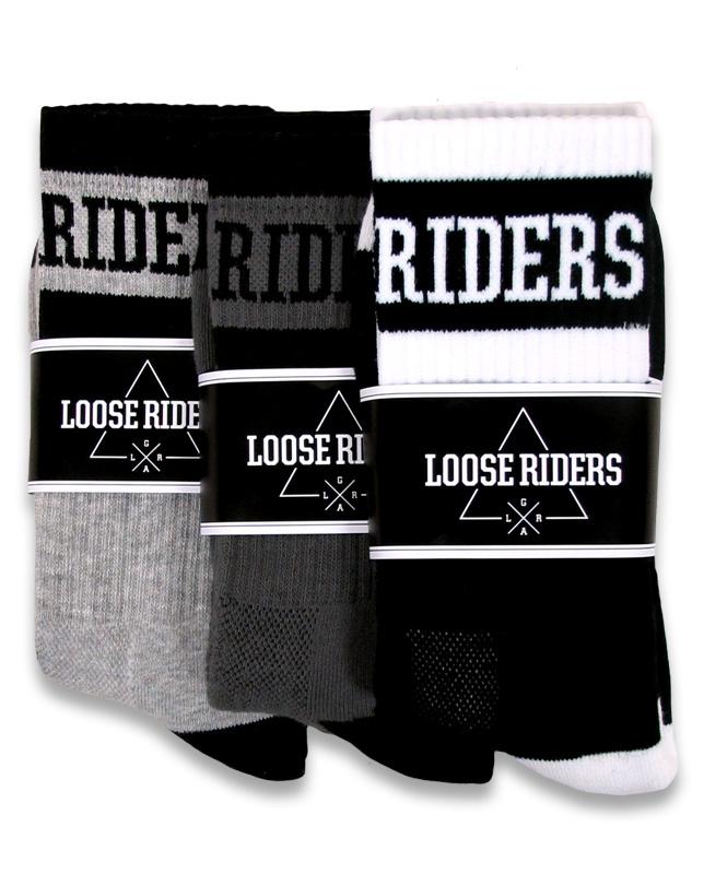 Loose Riders SOCKEN: 3 PACK ZUBEHÖR