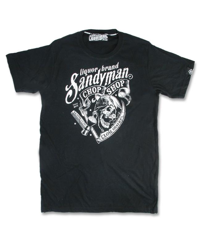 Liquor Brand SANDY MAN Men T-Shirt