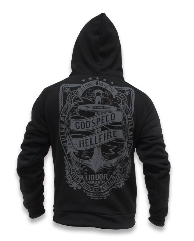Liquor Brand ANCHOR FRAME Men HOODIES