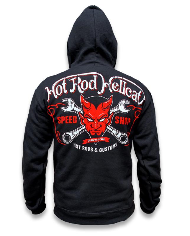 Hotrod Hellcat DEVIL Men Hoodies.