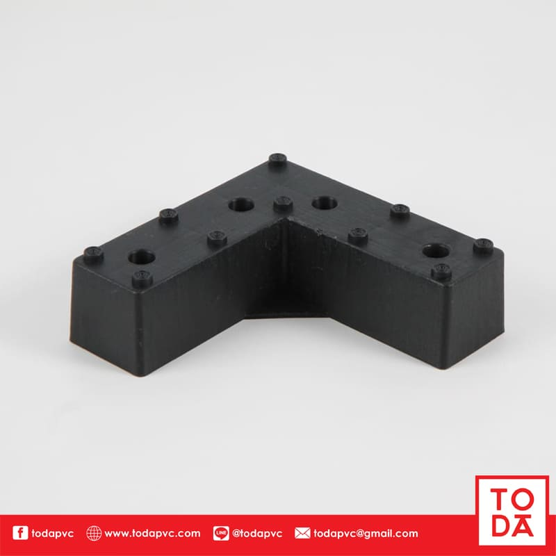 ขาพลาสติก TP-005 สีดำ