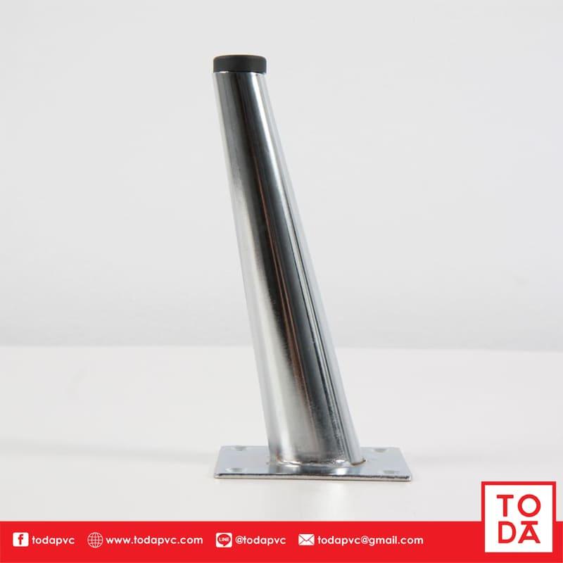 ขาเหล็กเอียง TD-042 15cm ชุบโครเมี่ยม