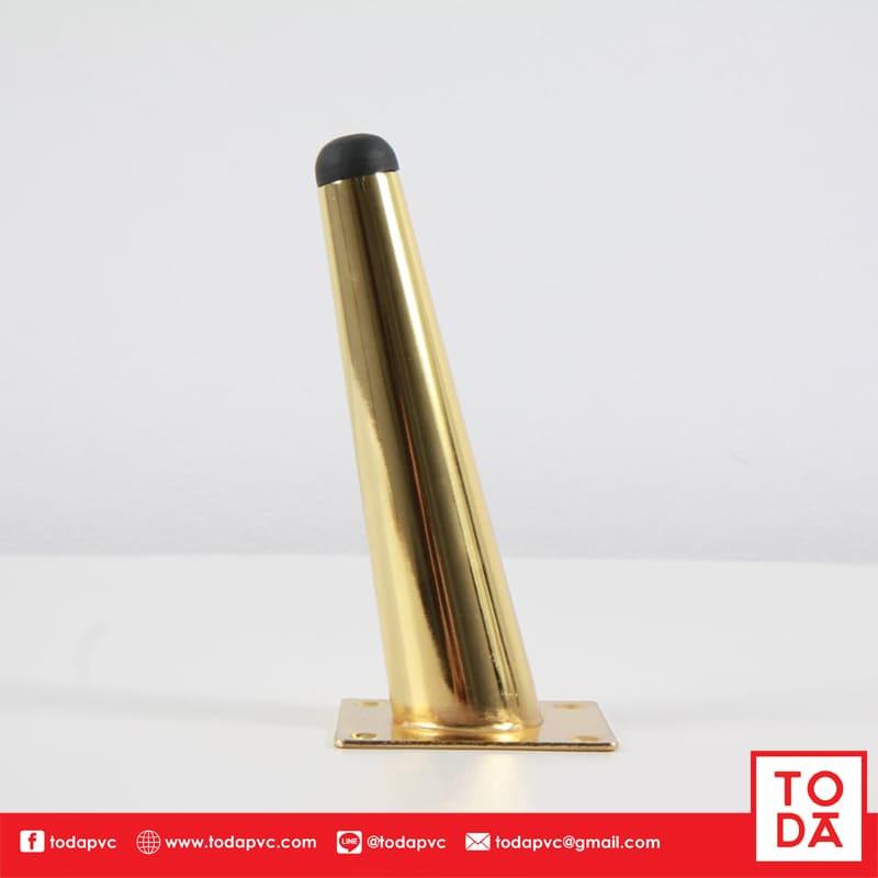 ขาเหล็กเอียง TD-046 15cm. ชุบสีทอง