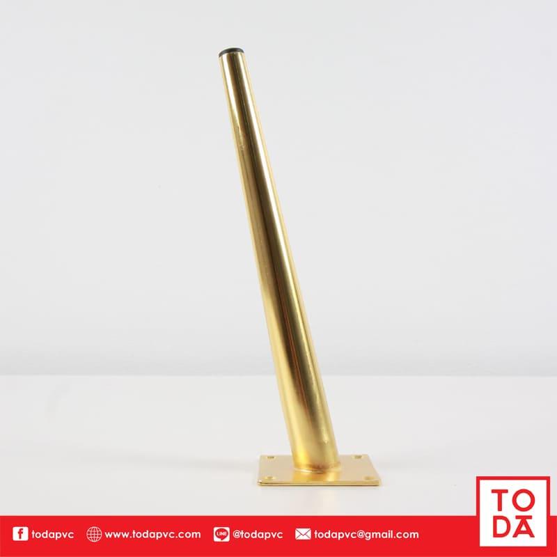 ขาเหล็กเอียง TD-047 30cm ชุบสีทอง