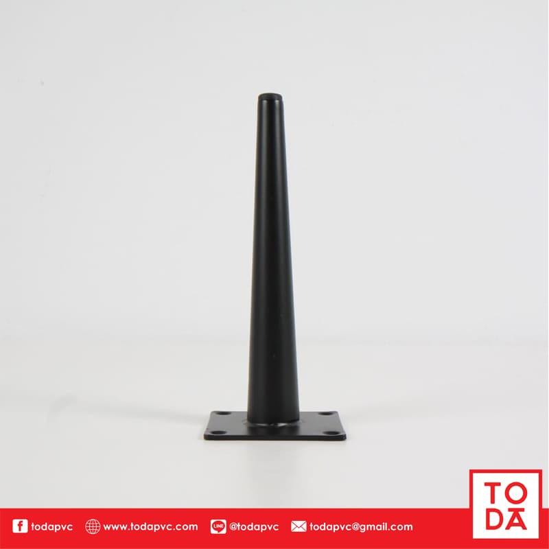 ขาเหล็ก TD-022 ชุบสีดำ