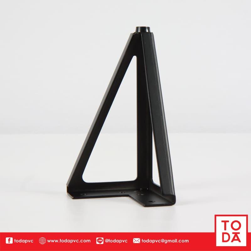 ขาเหล็ก TD-023 ชุบสีดำ