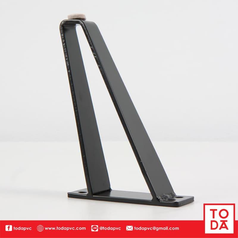 ขาเหล็ก TD-025 ชุบสีดำ
