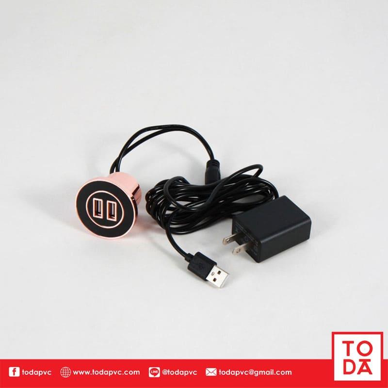 สาย USB CHARGE สีดำ