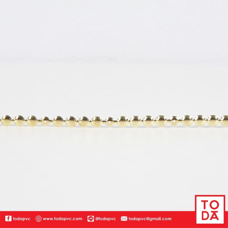 หัวเห็ดกลมทองเส้น 1M