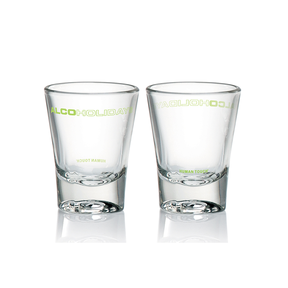 Alcoholidays Vodka glass