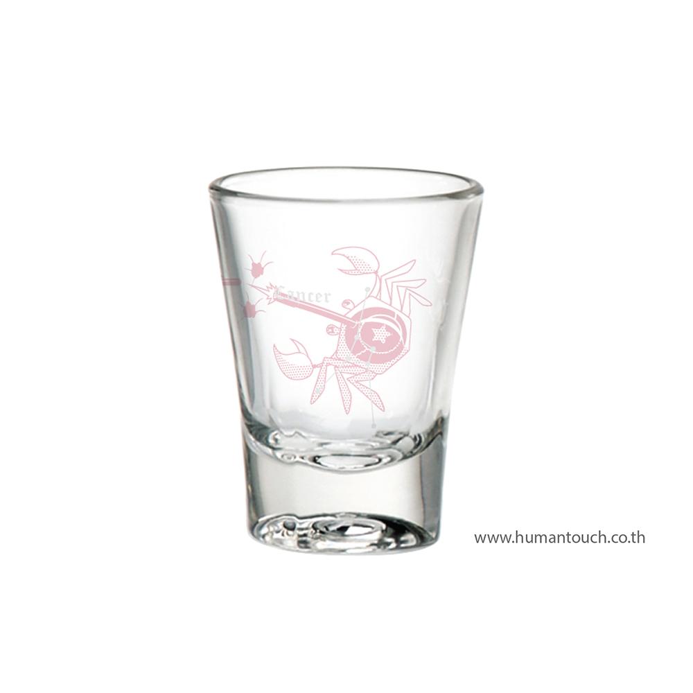 แก้ววอดก้าราศีกรกฎ Cancer Vodka glass