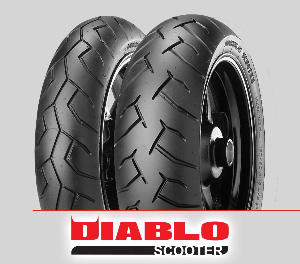 Pirelli DIABLO SCOOTER : 80/90-14 + 90/90-14