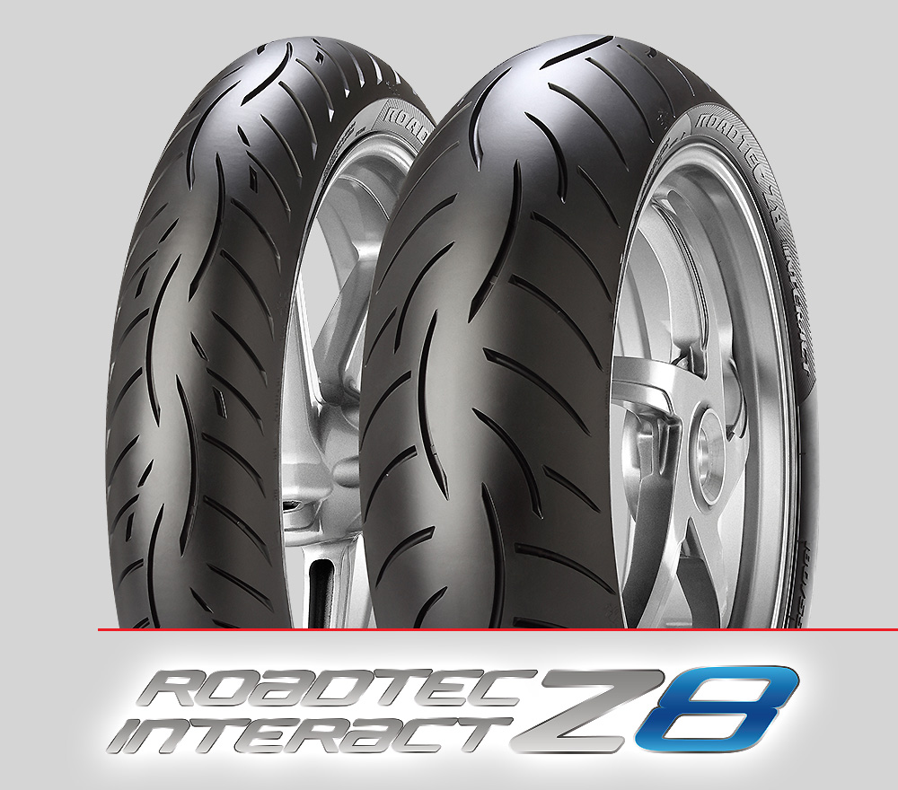 Metzeler Roadtec Z8 Interact : 110/80ZR18 + 180/55ZR17