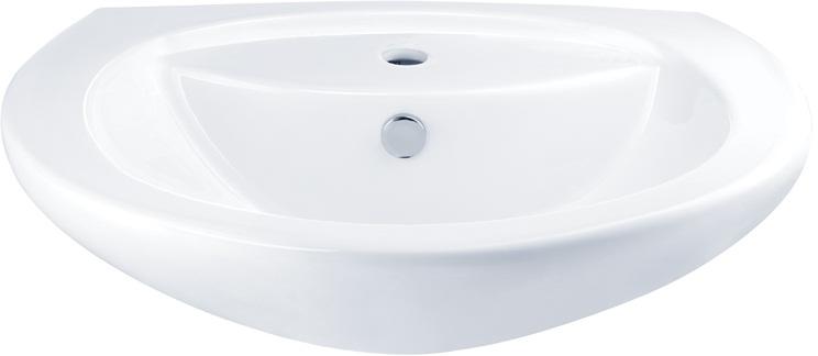 C0107 อ่างล้างหน้า แบบแขวนผนัง 1 รูก๊อก รุ่น ALICE - COTTO