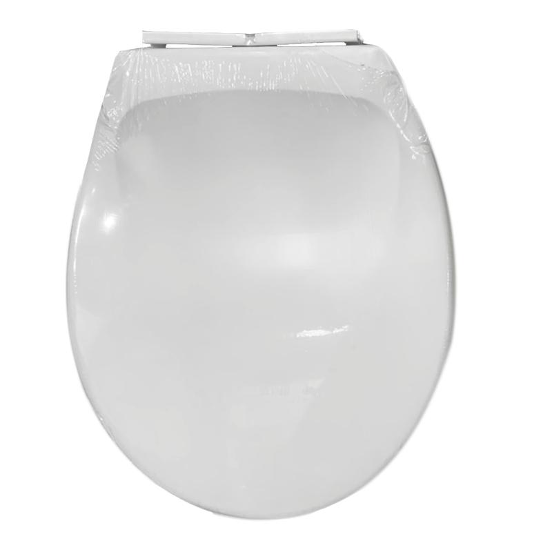 ETR02 ฝาชักโครก ทรงกลม สีขาว PIXO