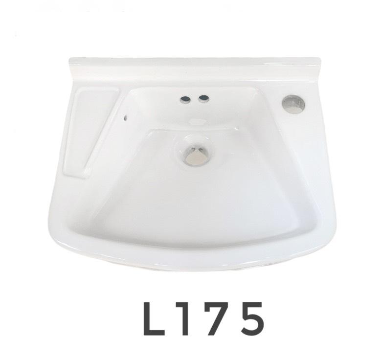 L-175 อ่างล้างหน้าแขวนผนัง สีขาว- Champion