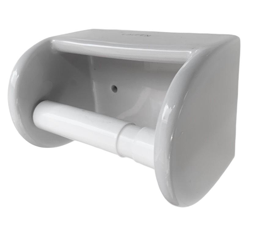 L-7261 ที่แขวนกระดาษชำระ ที่แขวนกระดาษทิชชู่ (Paper Holder) สีเทา สีขาว  - Laufen